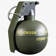 Mannequin TMC M67 Frag Grenade 3d model