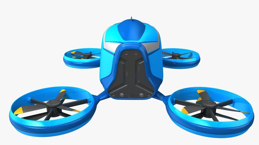 通用客运无人机 royalty-free 3d model - Preview no. 6