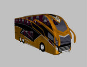 BusTransForm - Modif Bus Thailand 3d model