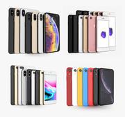 Apple iPhone2019。包括:所有颜色的X,Xs,Xs Max,Xr,8、8 +,7和7+ 3d model