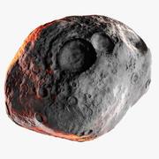 Vesta - Astéroïde du monde réel 3d model