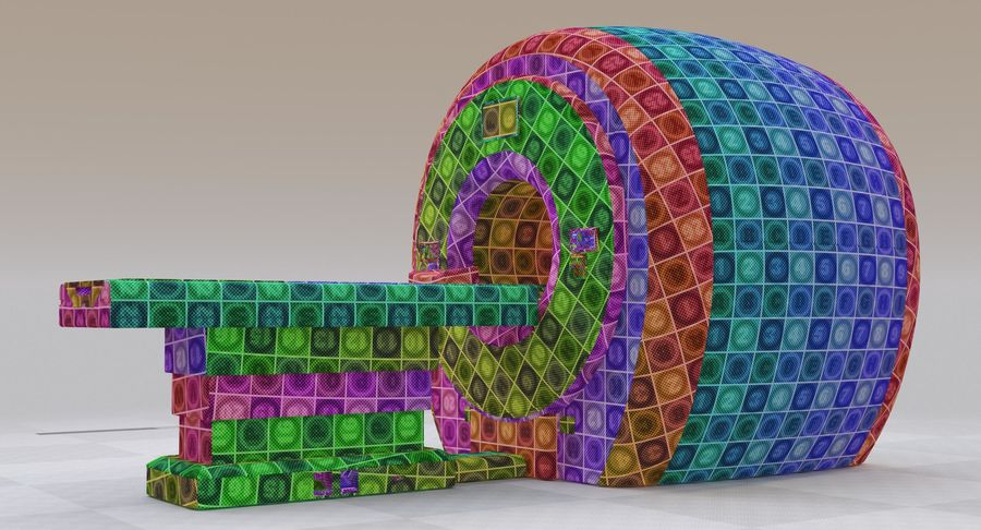 MRI-scanner royalty-free 3d model - Preview no. 25