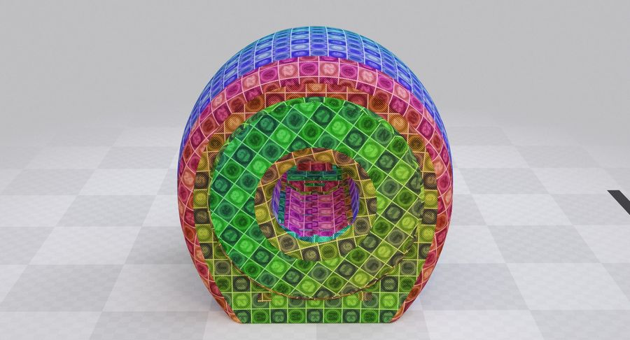 MRI-scanner royalty-free 3d model - Preview no. 24