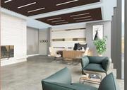 Cena do interior do escritório 3d model