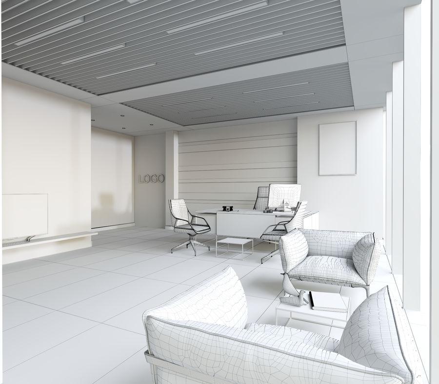 Escena interior de oficina royalty-free modelo 3d - Preview no. 5