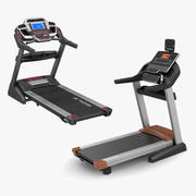 Rigged Treadmills 3D Models Collection 3d model