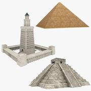埃及收藏 3d model