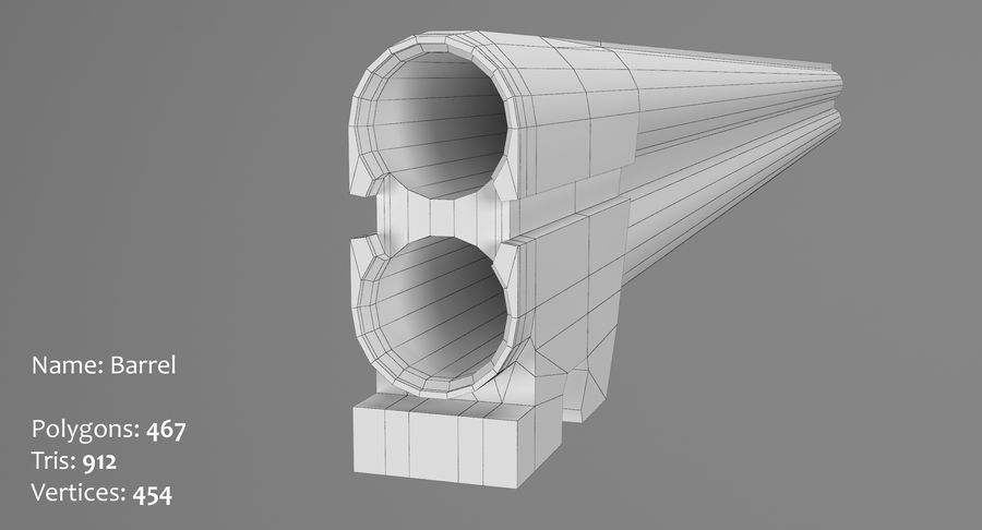 TOZ 34 royalty-free 3d model - Preview no. 35