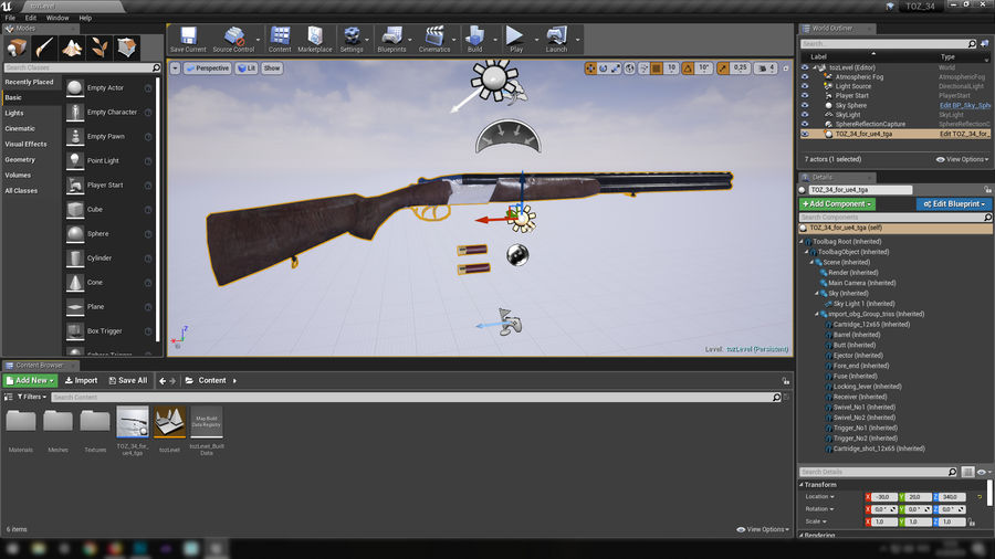 TOZ 34 royalty-free 3d model - Preview no. 62
