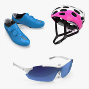 Bike Protection Accessories Collection 3d model