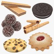 Raccolta di biscotti 3d model