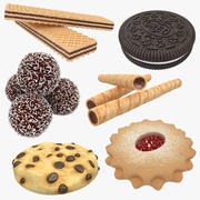 Cookie Collection 3d model