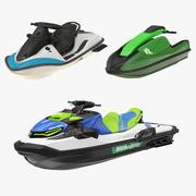 Persönliche Sammlung von Wasserfahrzeugen 3D-Modellen 3d model