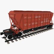 Trichterwagen 19-3054-01 3d model
