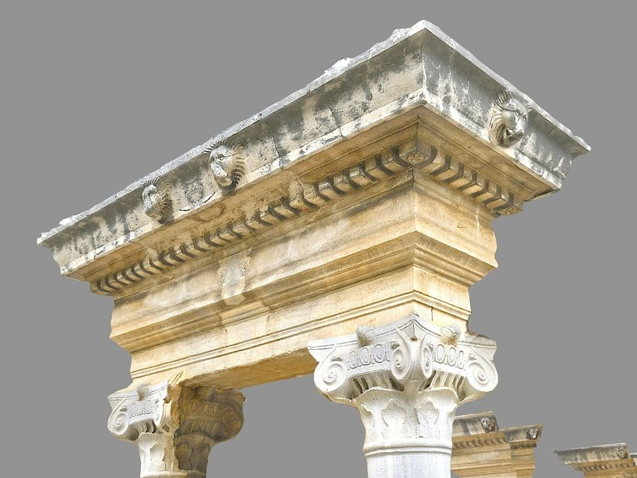Ancient Pillar Pack royalty-free 3d model - Preview no. 5