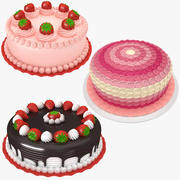 Cake Collection 4 3d model