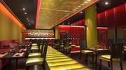 Azjatycka restauracja 3d model