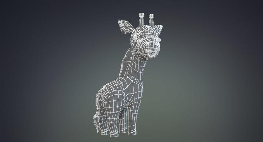 만화 기린 royalty-free 3d model - Preview no. 29