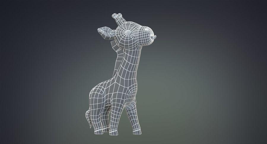 만화 기린 royalty-free 3d model - Preview no. 30
