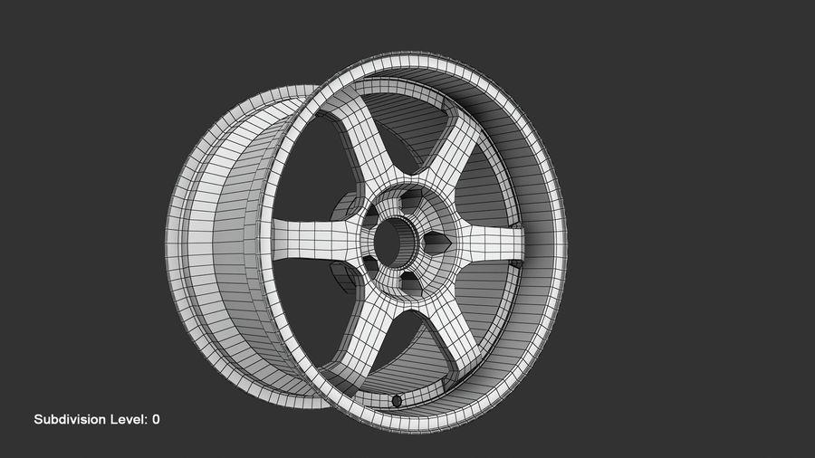 Llanta y neumático royalty-free modelo 3d - Preview no. 51