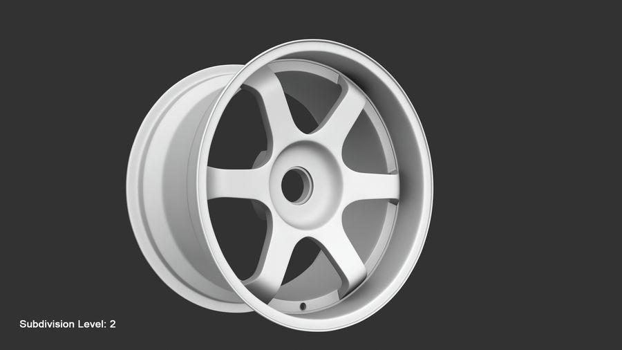 Llanta y neumático royalty-free modelo 3d - Preview no. 74