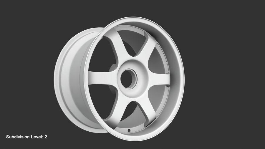 Llanta y neumático royalty-free modelo 3d - Preview no. 68