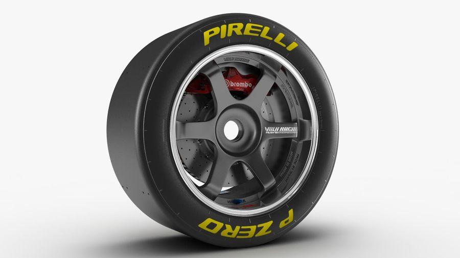 Llanta y neumático royalty-free modelo 3d - Preview no. 13