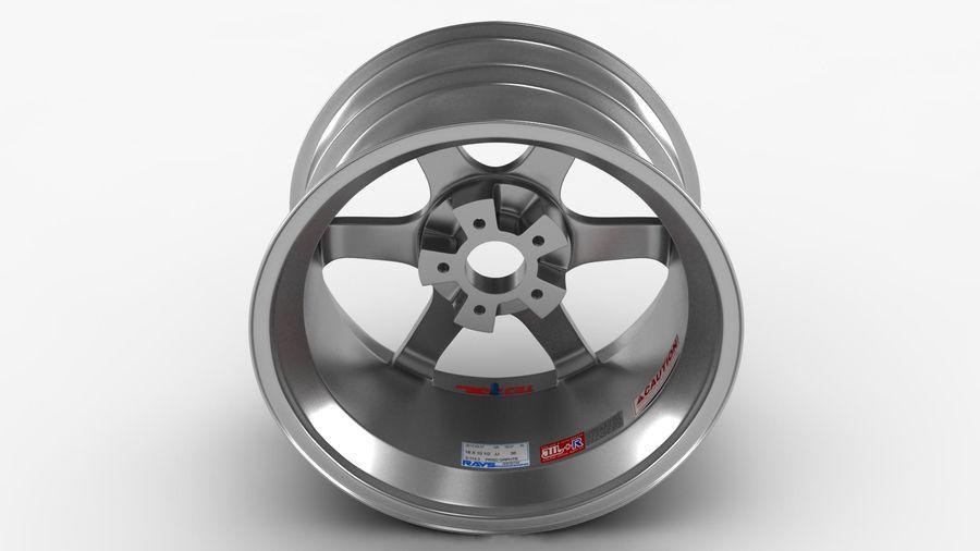 Llanta y neumático royalty-free modelo 3d - Preview no. 23