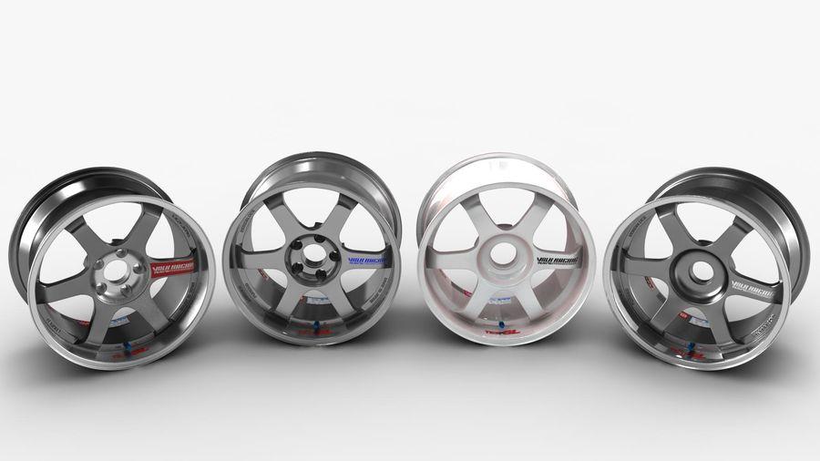 Llanta y neumático royalty-free modelo 3d - Preview no. 35