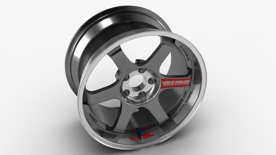 Llanta y neumático royalty-free modelo 3d - Preview no. 31