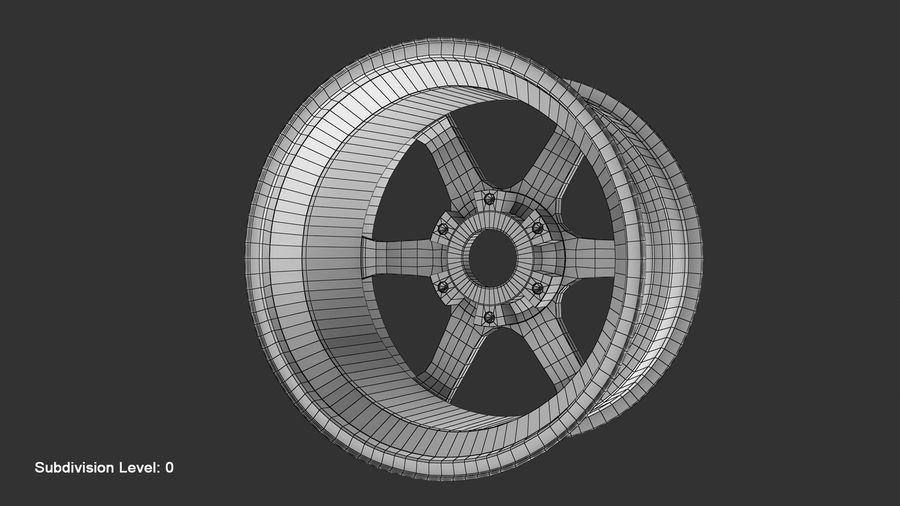Llanta y neumático royalty-free modelo 3d - Preview no. 70