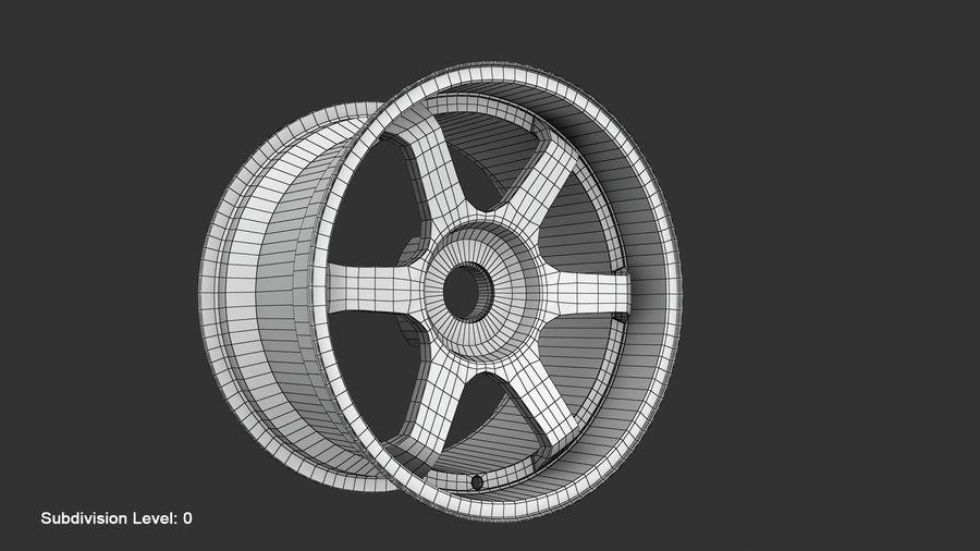 Llanta y neumático royalty-free modelo 3d - Preview no. 73