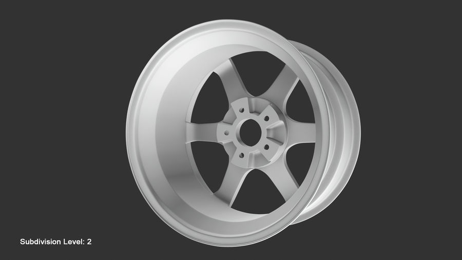 Llanta y neumático royalty-free modelo 3d - Preview no. 64
