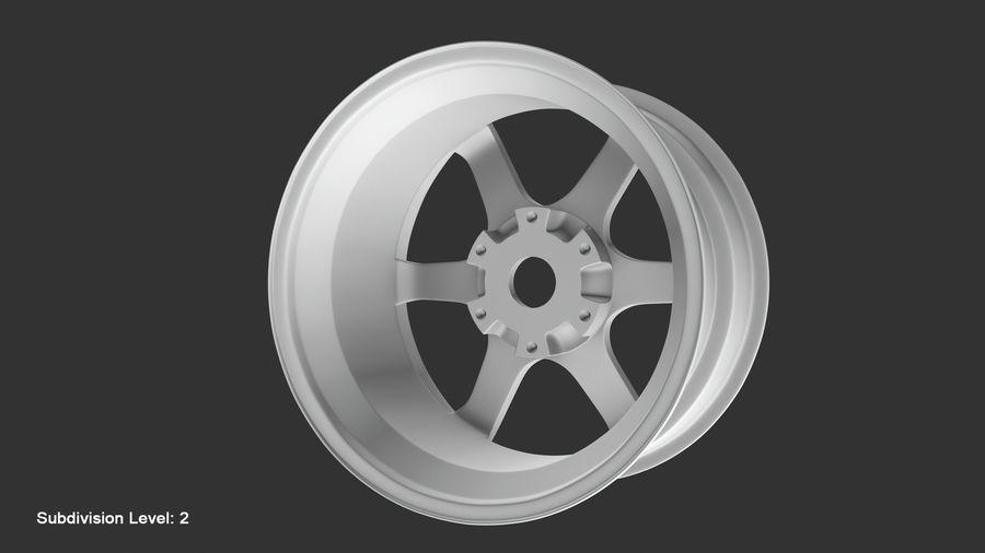 Llanta y neumático royalty-free modelo 3d - Preview no. 76