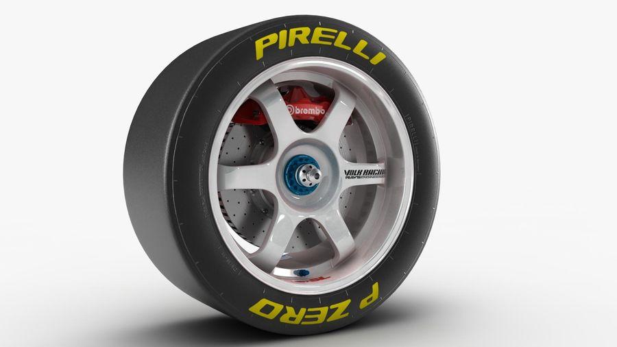 Llanta y neumático royalty-free modelo 3d - Preview no. 11