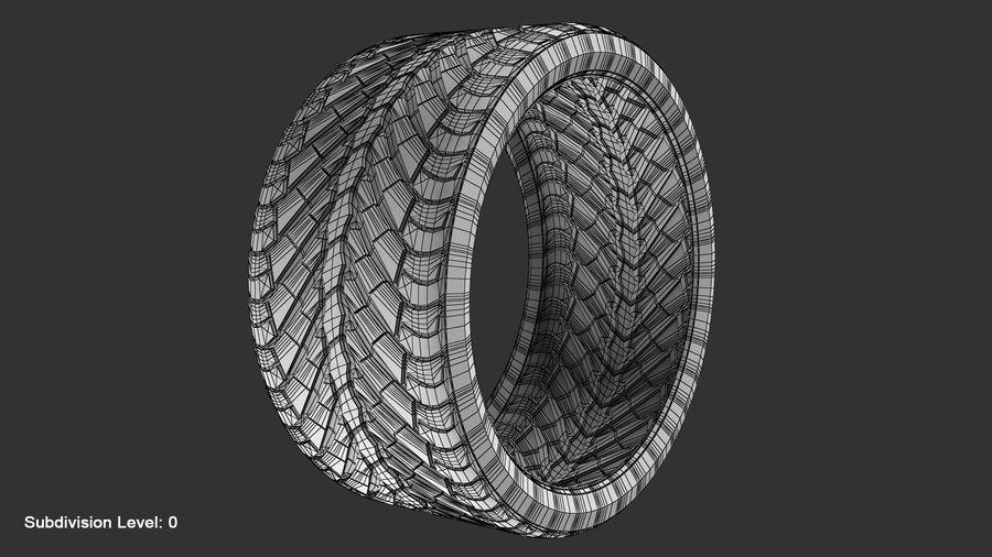Llanta y neumático royalty-free modelo 3d - Preview no. 94
