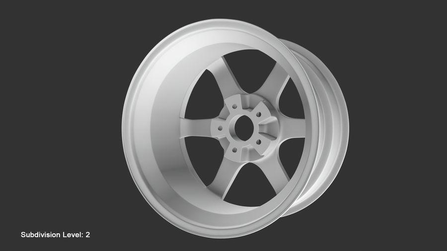 Llanta y neumático royalty-free modelo 3d - Preview no. 56