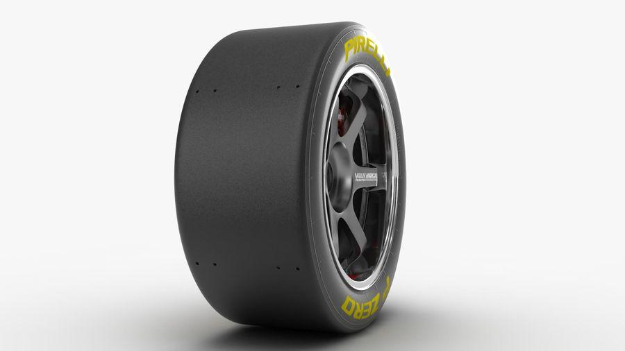 Llanta y neumático royalty-free modelo 3d - Preview no. 15