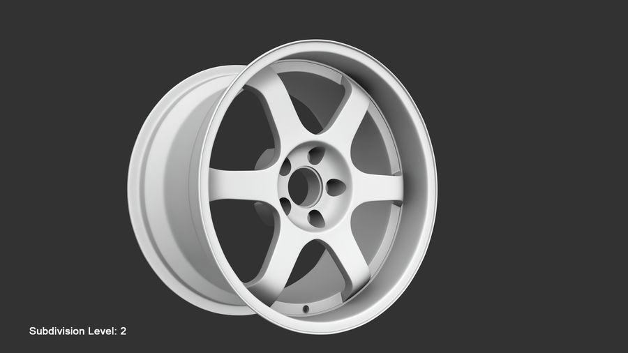 Llanta y neumático royalty-free modelo 3d - Preview no. 52