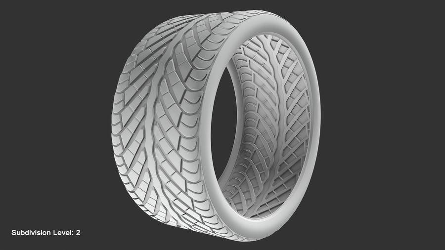 Llanta y neumático royalty-free modelo 3d - Preview no. 95