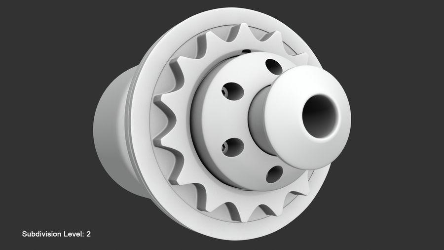 Llanta y neumático royalty-free modelo 3d - Preview no. 84