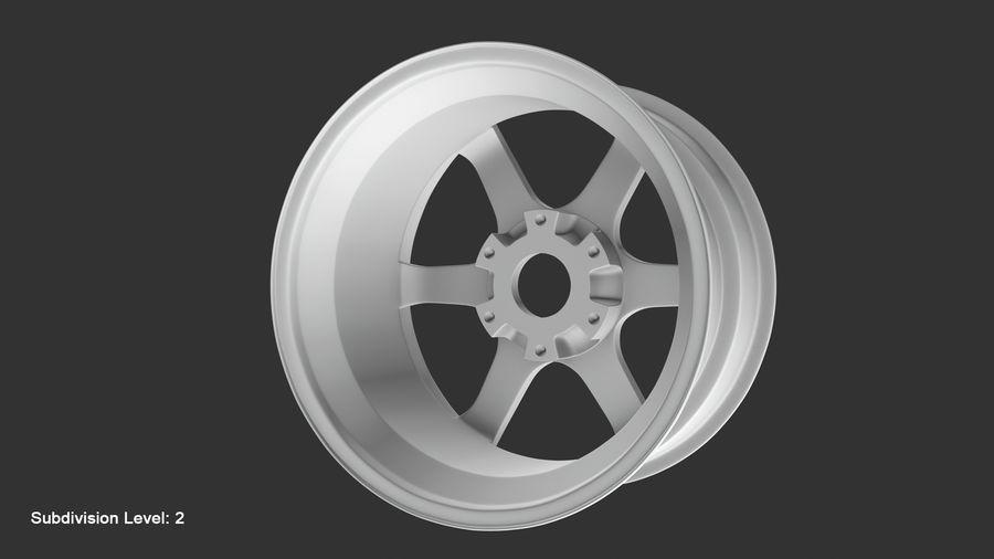 Llanta y neumático royalty-free modelo 3d - Preview no. 72