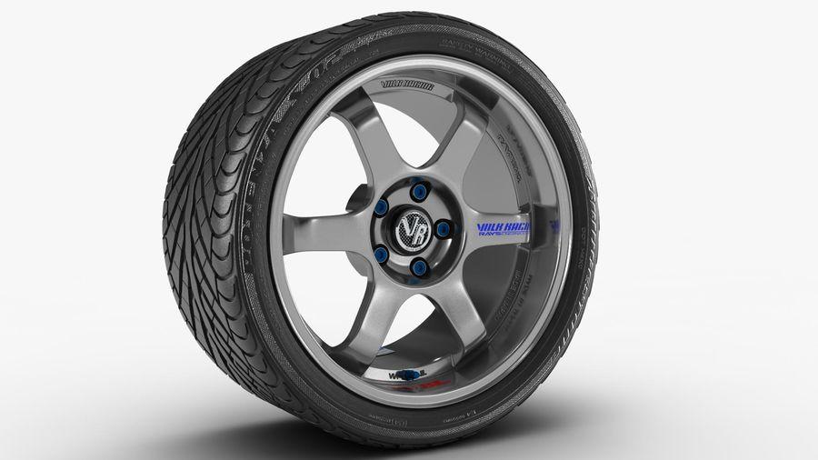 Llanta y neumático royalty-free modelo 3d - Preview no. 41