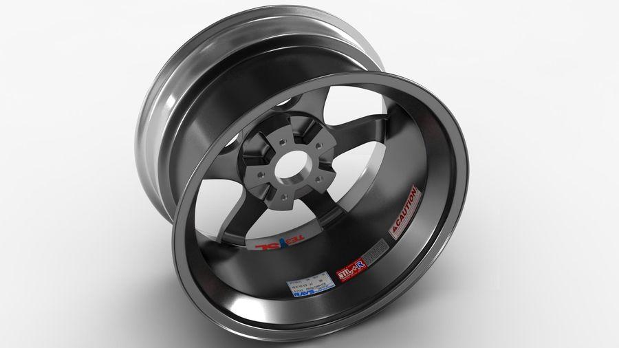 Llanta y neumático royalty-free modelo 3d - Preview no. 25