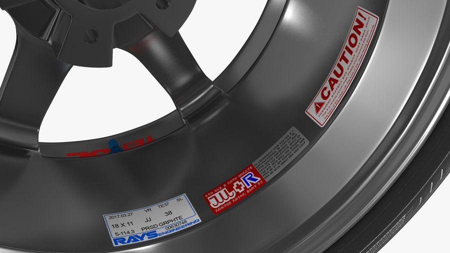 Llanta y neumático royalty-free modelo 3d - Preview no. 39