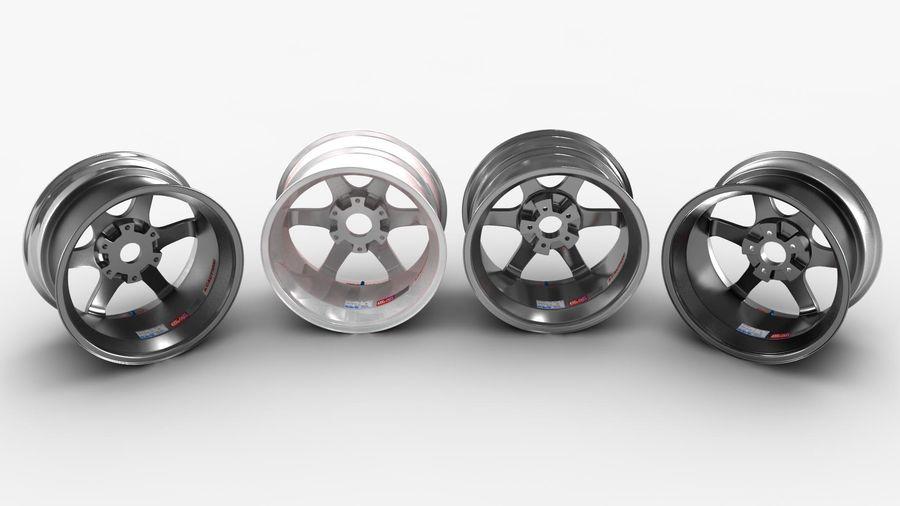 Llanta y neumático royalty-free modelo 3d - Preview no. 37