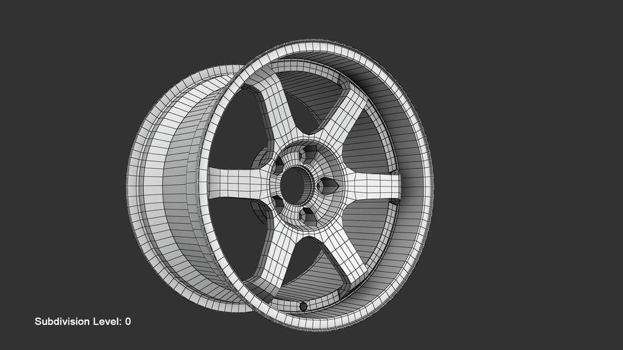 Llanta y neumático royalty-free modelo 3d - Preview no. 58