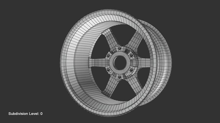 Llanta y neumático royalty-free modelo 3d - Preview no. 71