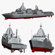 Fregata Type26 3d model