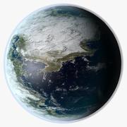 Fantasy Planet 3d model